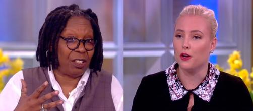 Whoopi Goldberg, Meghan McCain, via YouTube