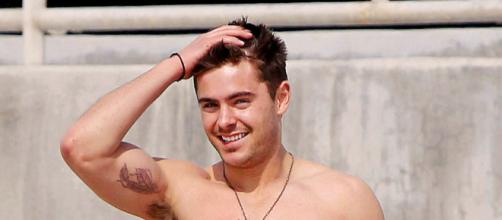 Zac Efron's diet may be odd but it keeps him fit [Zac Efron bicep tattoo by Tim Evanson via Flickr]