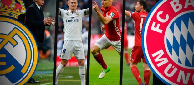 Choque de infarto, Real Madrid y Bayern Munich prometen encuentro electrizante