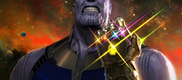 Cine] Avengers: Infinity War: promo art de Thanos y su profundidad - blogdesuperheroes.es