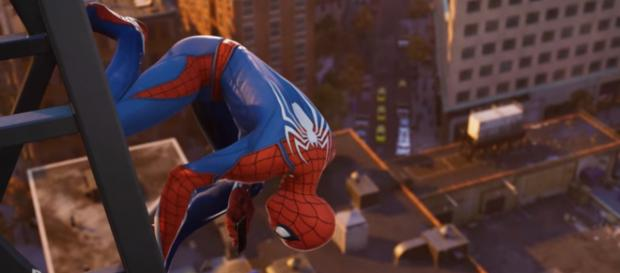 Iron Spider Comes to Marvel's Spider-Man on PS4 [Image Credit: Marvel Entertainment/YouTube screencap]