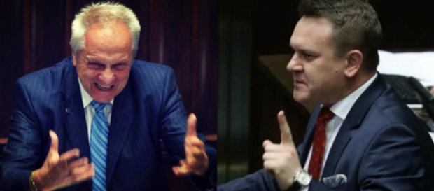 Tarczyński zgasił Niesiołowskiego (fot. youtube.com)