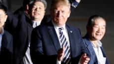 La Corée du Nord libère trois otages américains