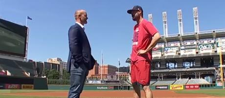 Andrew Miller interview. - [MLB / YouTube screencap]