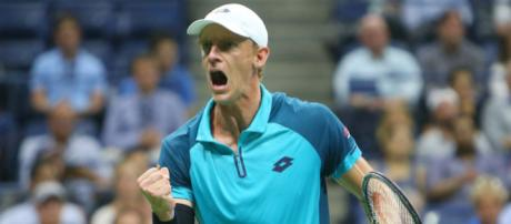 Kevin Anderson is the fist-pumping South African giant who slid ... - usatoday.com