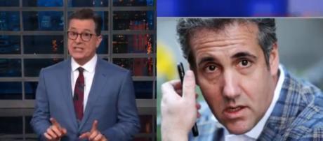Stephen Colbert, Michael Cohen, via Twitter