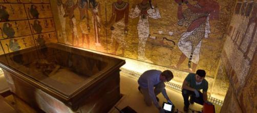 Egipto resuelve el misterio de los cuartos ocultos en la tumba de Nefertiti