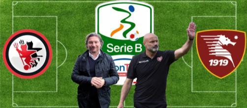 Giovanni Stroppa e Stefano Colantuono, allenatori di Foggia e Salernitana