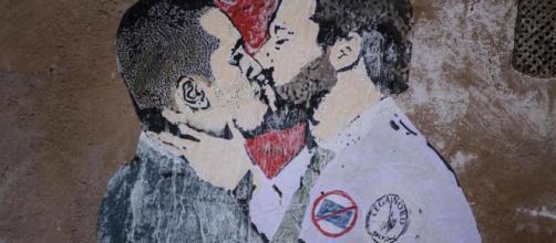 Il bacio del Governo (Di Maio-Salvini)