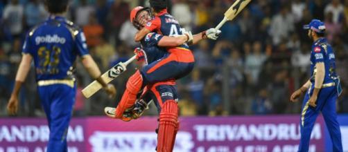 Jason Roy guides Delhi Daredevils home in last-ball IPL 2018 ... - (Image via IPl2018/Twitter)