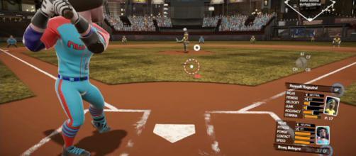 La Super Mega Baseball original de Metalhead Software .
