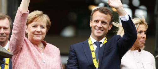 Macron sacré du prix Charlemagne, plaidoyer pour l'unité franco ... - rfi.fr