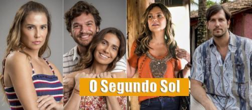 Parte do elenco de 'O Segundo Sol', a nova novela das nove (Reprodução/Web)