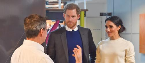 Prince Harry and Ms. Markle during their first visit to Northern Ireland (Image credit – Northern Ireland Office, Wikimedia Commons)