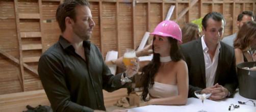 Rob Valletta and Scheana Marie on 'Pump Rules' season six. [Photo via Bravo/YouTube]