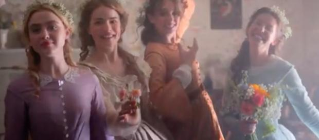 'Little Women' looks to be a satisfying treat this Mother's Day. [image source: PBS/YouTube]