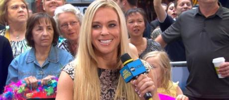 Kate Gosselin from a screenshot of 'GMA'