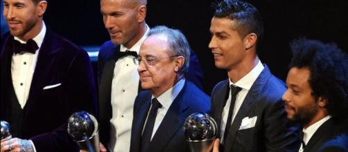 Cristiano Ronaldo é o melhor jogador do mundo.
