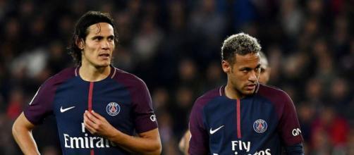Edinson Cavani y Neymar calientan el mercado de fichajes
