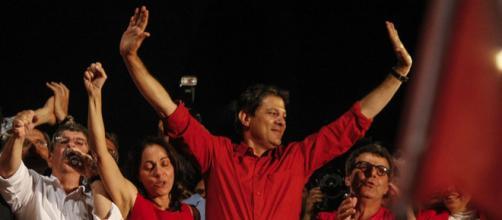 Ex-prefeito Fernando Haddad é denunciado por crime eleitoral. (foto reprodução).