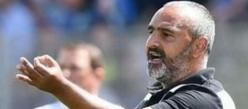 Fabio Liverani, mister del Lecce.