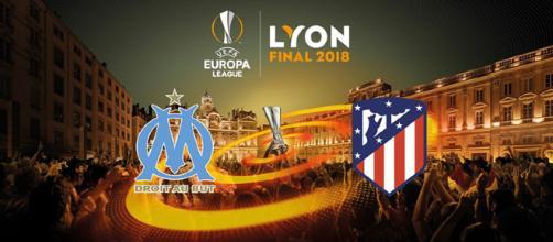 Finale di Europa League 2018, Marsiglia-Atletico Madrid