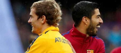 Griezmann e Suárez vão dividir o ataque