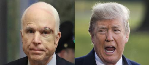 John McCain, Donald Trump, via Twitter