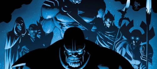 La orden negra son los seres más malvados de todo el universo, llamados los hijos de Thanos