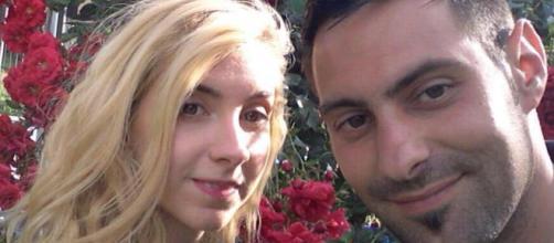 La vittima Sara Di Pietrantonio e l'assassino Vincenzo Paduano