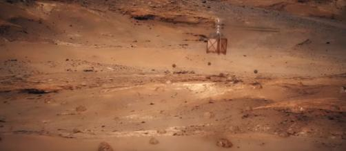 Mars Helicopter [Image Credit: NASA JP/Youtube screencap]