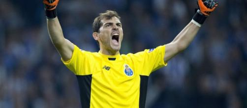 Porto's Iker Casillas makes young fan cry with a genuinely lovely ... - mirror.co.uk