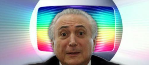 Temer faz vídeo para a Globo e emissora age. (foto reprodução).