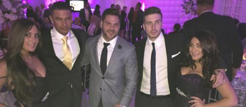 The 'Jersey Shore' cast attends a wedding. [Photo via Instagram]
