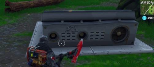 Una trampilla misteriosa aparece en Fortnite: Battle Royale.