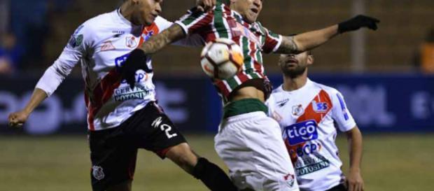 Fúlio César e Sornoza vão bem na classificação do Fluminense