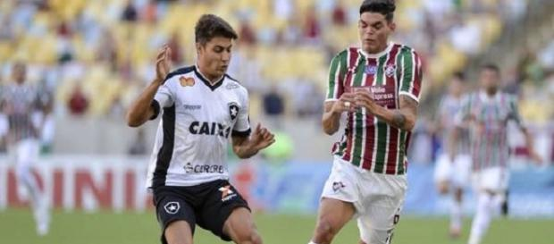 Botafogo e Fluminense se enfrentam na segunda pelo Campeonato Brasileiro (Foto: Globoesporte)