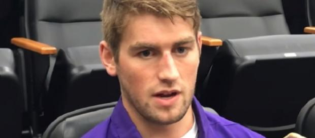 Danny Etling is the first member of the Patriots' 2018 NFL Draft class to sign a deal (Image Credit: Shea Dixon/YouTube)
