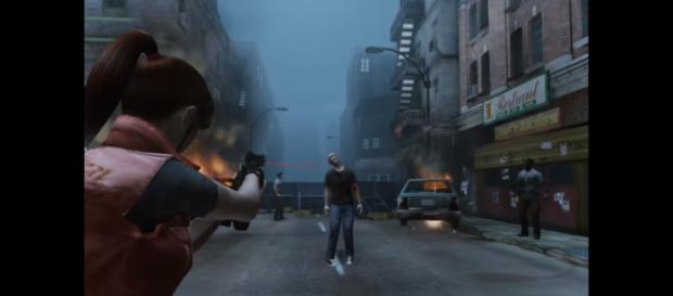 'Resident Evil 2' remake project - UDK - 'Resident Evil 4' gameplay style. - [Image Credit: Rod Lima/ YouTube screencap]