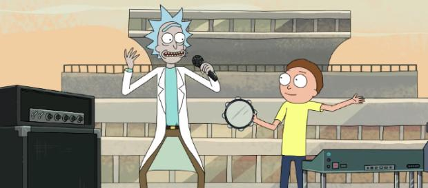'Rick and Morty' season 4 could very well feature Kanye West in some capacity. [Image via Adult Swim/YouTube screencap]