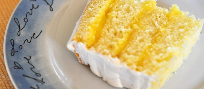 Yellow cake with vanilla frosting recipe