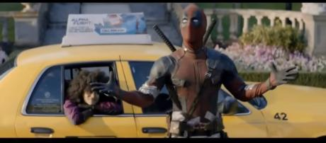 "Deadpool 2 - Nueva TV Spot ""Boombox"" (2018) [Image Credit: Team Marvel/YouTube screencap]"