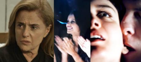 Sophia, Gleici, Clara e Patrick em 'O Outro Lado'. (foto reprodução).