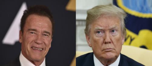 Arnold Schwarzenegger, Donald Trump, via Twitter