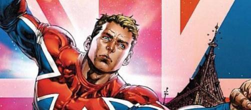Brian Braddock, alias el Capitán Britania, es un superhéroe creado por Chris Claremont.