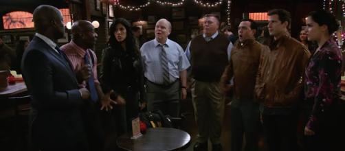 Fans will be delighted to hear that the show isn't going to be cancelled after all. [image credit: Brooklyn Nine-Nine - YouTube]