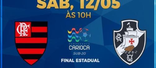 Flamengo x Vasco ao vivo neste sábado (12)