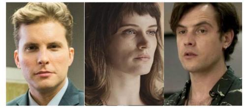 Foto mostra supostamente com quem Clara irá ficar no final da novela 'O Outro Lado do Paraíso'. (foto reprodução).