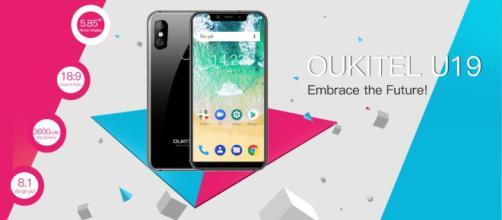 Oukitel U19, il nuovo sosia di iPhone X