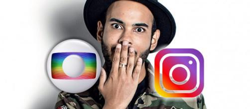 Hugo Gloss teve conta desativada no Instagram